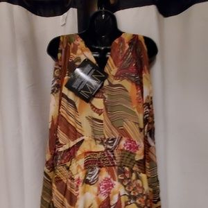 IMAN Dresses - BEAUTIFUL brand new fall colored dress.